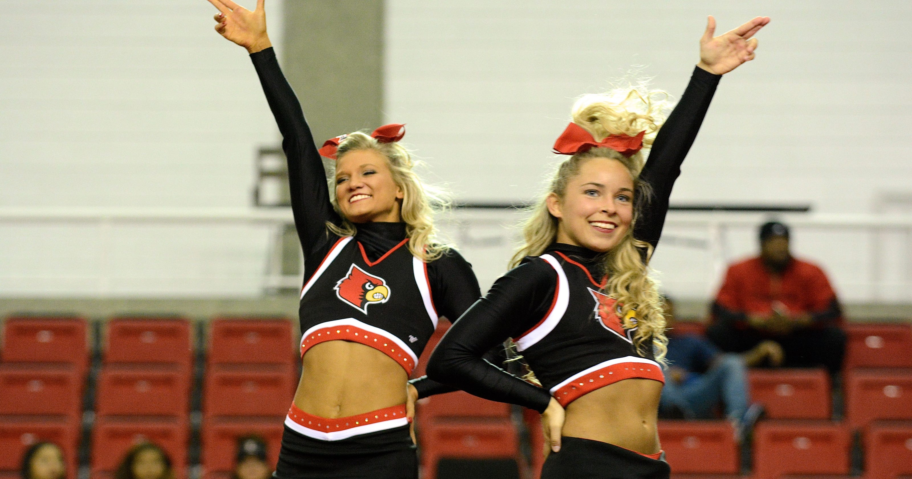 Get Pepped Up With University Of Louisville Cheer And
