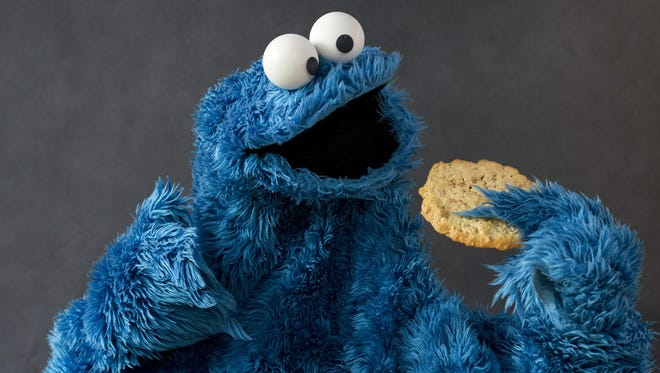 The infamous Cookie Monster.