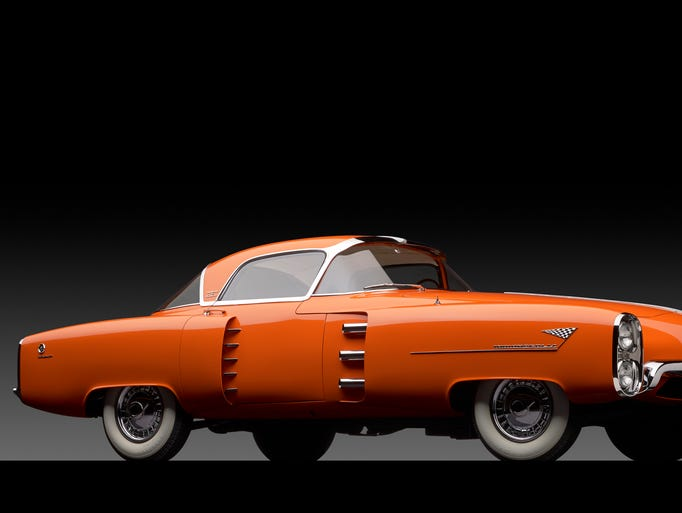 Car Auctions Ny >> Famous Lincoln concept car of the 1950s