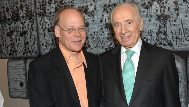 U.S. Rep. Steve Cohen, left, is pictured with former Israeli President Shimon Peres in this 2007 photo.