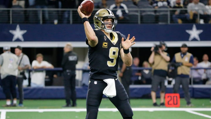 Never too early: Saints open as 5.5-point faves vs. Cowboys