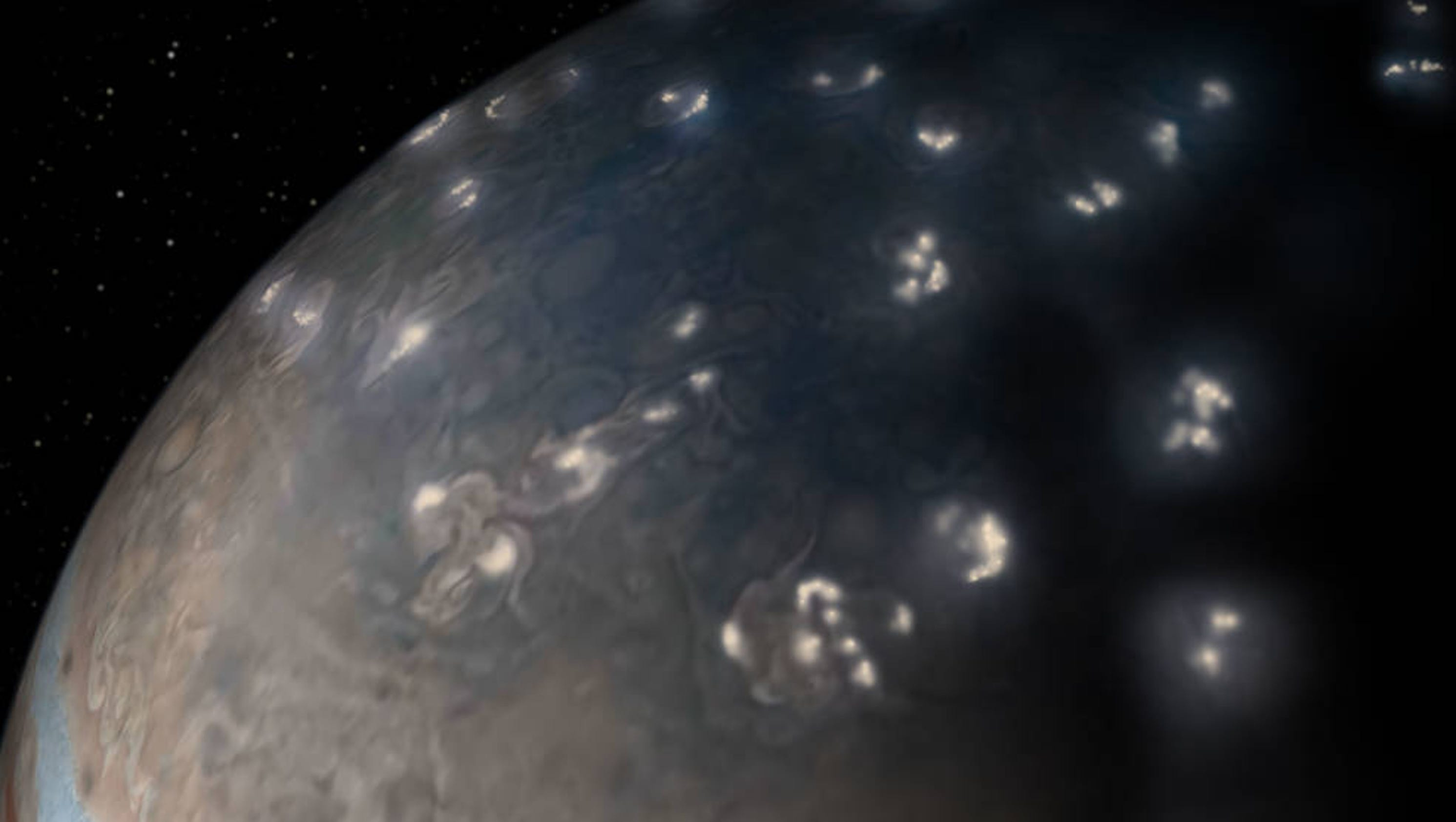 NASA's Juno probe discovers lightning on Jupiter