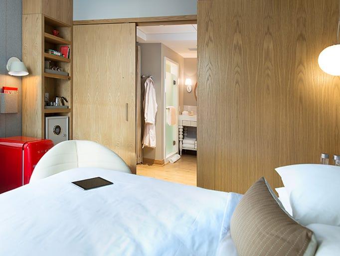 Female Traveler Room Service