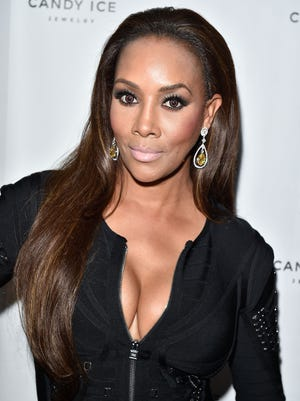 Vivica A. Fox attends the unveiling of the Candy Ice Collection at the Royal Ontario Museum on July 28, 2015 in Toronto, Canada.