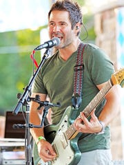 Chris Ranallo of Decoy performs during the inaugural Ankeny Oktoberfest in 2017 at the Ankeny Market Pavilions.
