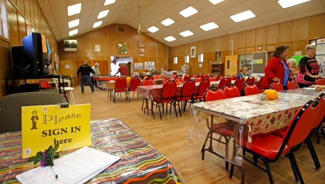 The entrance and dining area of the Lower Valley Senior Center as seen on Tuesday in Fruitland.