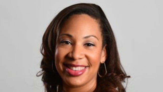 FAMU alum Tiffany Greene is the first African-American woman to call college football games as a play-by-play announcer. She starts her new role this season.