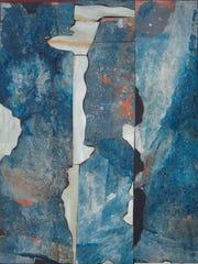 "Romare Bearden, ""River Mist,"" 1962, mixed media, 54"