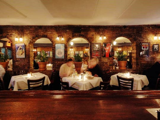 Joe Allen restaurant is frequented by performers after shows.