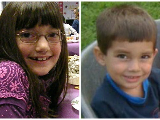 Alyssa and Caleb Lynch were killed in a house fire in Evansville.