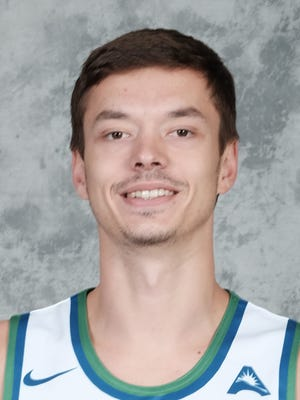 FGCU men's basketball player Christian Terrell (11).