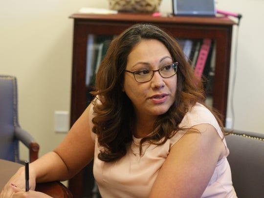Rachel Pelz, program director for the Luna County Adult