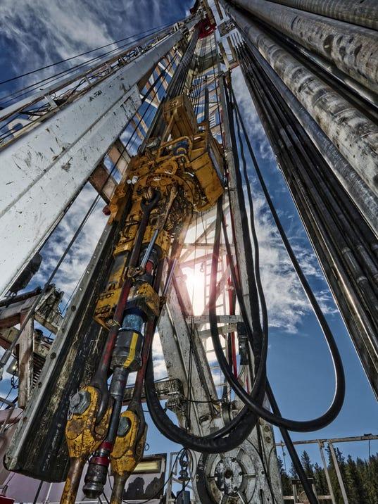 Fracking vertical