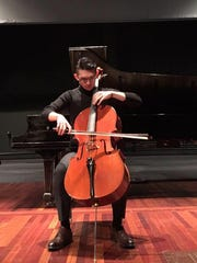 the SSO's principal cellist Jichen Li