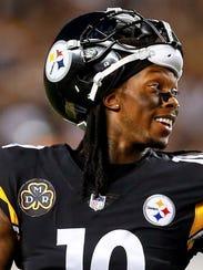 Pittsburgh Steelers wide receiver Martavis Bryant is