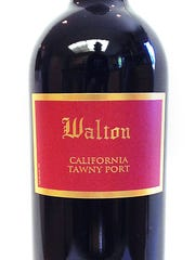 A salted caramel semifreddo will be paired with a Walton 20 year tawny port