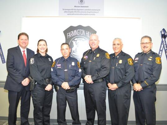 FRM cop promotions