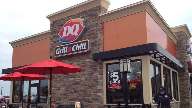 The new DQ Grill & Chill is on Dewey Avenue just north of the corner of Britton Road.