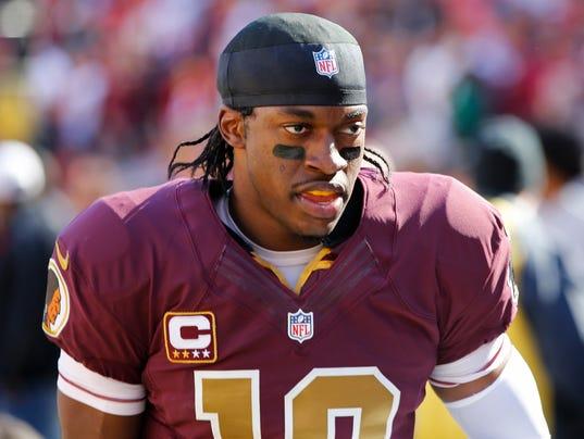 USP NFL: SAN DIEGO CHARGERS AT WASHINGTON REDSKINS S FBN USA MD