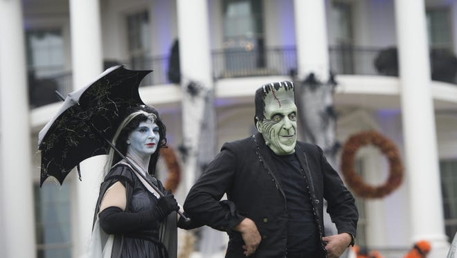 The White House gets ready for Halloween