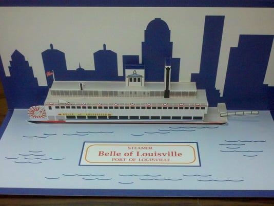 Frank Miller's pop up card of the Belle