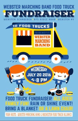 Webster Marching Band Will Host Food Truck Rodeo
