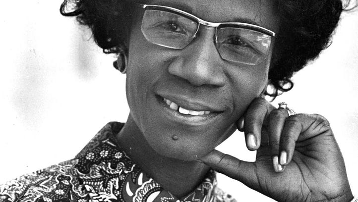 Unbought and unbossed: Shirley Chisholm blazed multiple trails