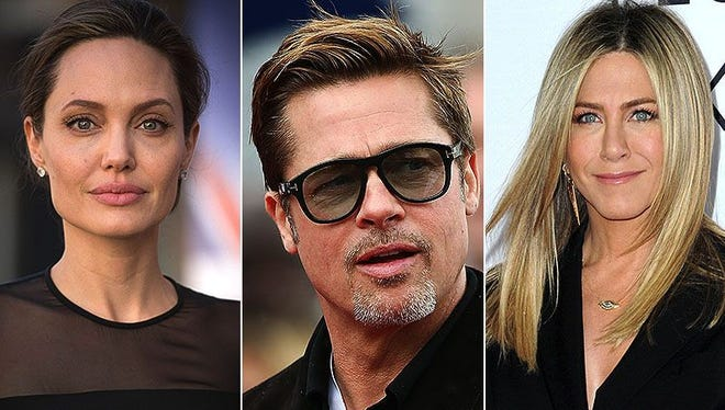 Angelina Jolie. Brad Pitt. Jennifer Aniston. A love triangle for the ages.
