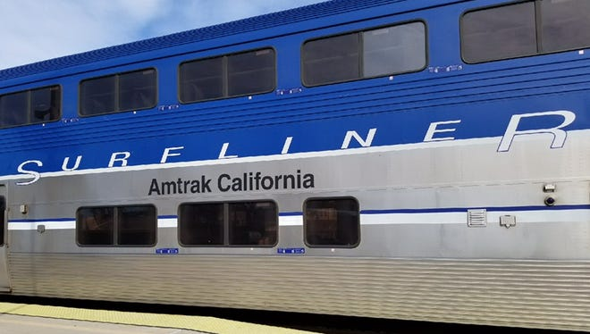 The Amtrak Pacific Surfliner is shown in this file photo.