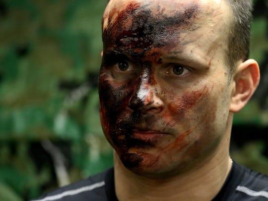 Former combat medic Jordan Gonzalez is now an actor