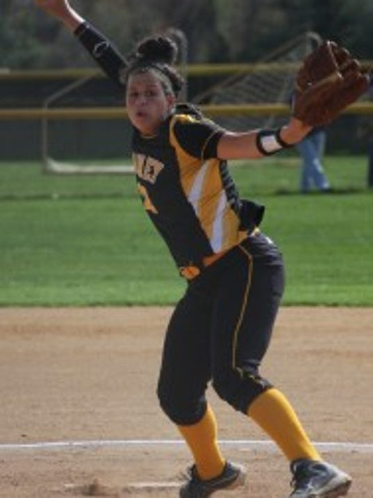 SJV pitcher Ashley Ventura