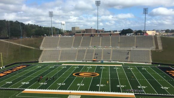 Grambling State hosts Texas Southern for homecoming Saturday, Oct. 28, 2017 at Eddie G. Robinson Memorial Stadium.