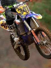 This is a picture of a dirt bike stolen March 26 from