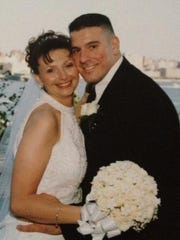 Mark Zeitounian and his wife, Debbie, in an undated photo. Zeitounian was killed Saturday in a multivehicle crash in East Rutherford.