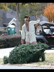 "This meme based on the Tallahassee Democrat's original photo poked fun, via the Cousin Eddie character from ""National Lampoon's Christmas Vacation."" It popped up on social media in a matter of hours."