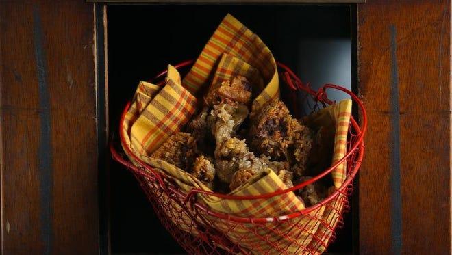 Schnitzelbank Restaurant's fried chicken livers