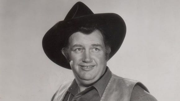 Undated photo of actor Andy Devine.  No credit.