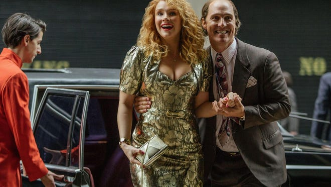 "Matthew McConaughey and Bryce Dallas Howard star in ""Gold."""
