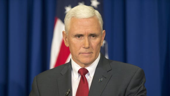 Indiana Gov. Mike Pence says one misconception is that