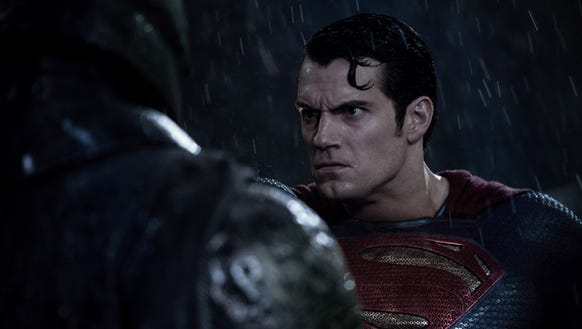 This is Superman's angry face.