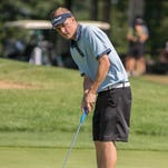 Kory Roberts, here at the 2014 Calhoun County Amateur Championship, finished runner-up at the Michigan Amateur on Friday.