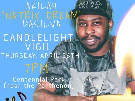 Vigil for Akilah DaSilva