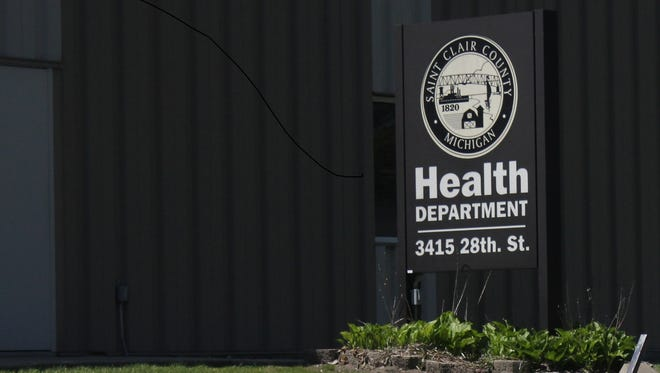 St. Clair County Health Department.