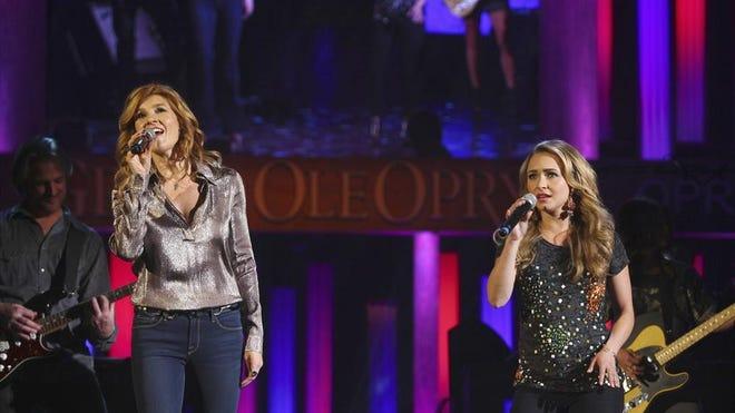 "Connie Britton, left, and Hayden Panettiere return Wednesday for season four of  ""Nashville."""