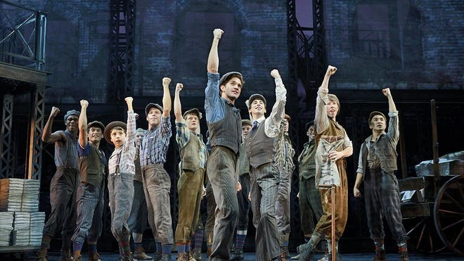 """Tickets for the February visit of Disney's """"Newsies"""" to the Fox Cities PAC go on sale Nov. 13."""
