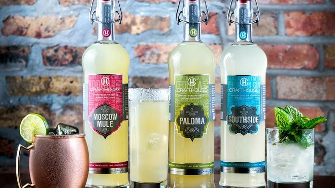 Chicago-based Crafthouse Cocktails produces such ready-to-drinks as Moscow Mule (vodka cocktail), Paloma (tequila cocktail) and Southside (gin cocktail).