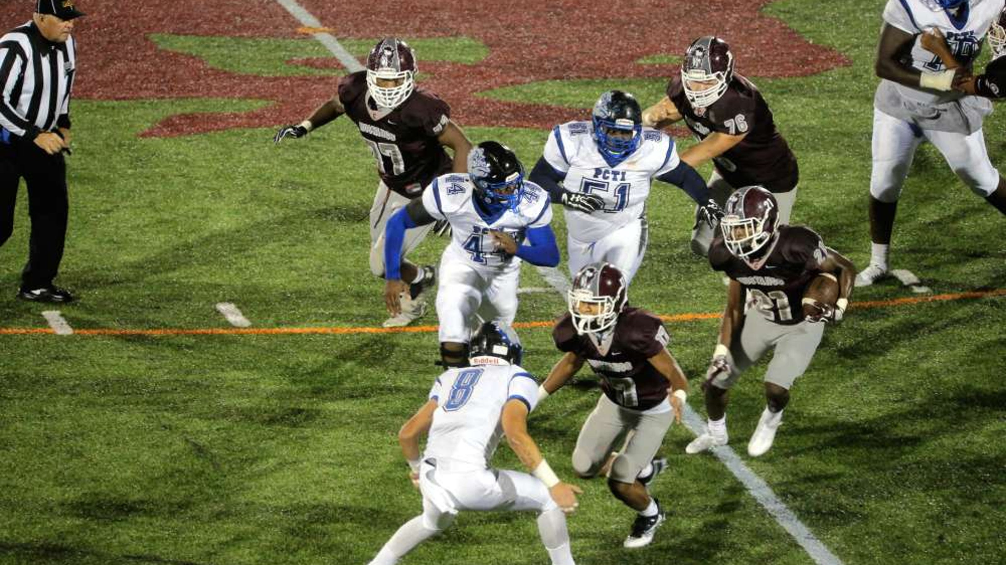 Football Clifton High School Falls To Pcti Will Face North Bergen