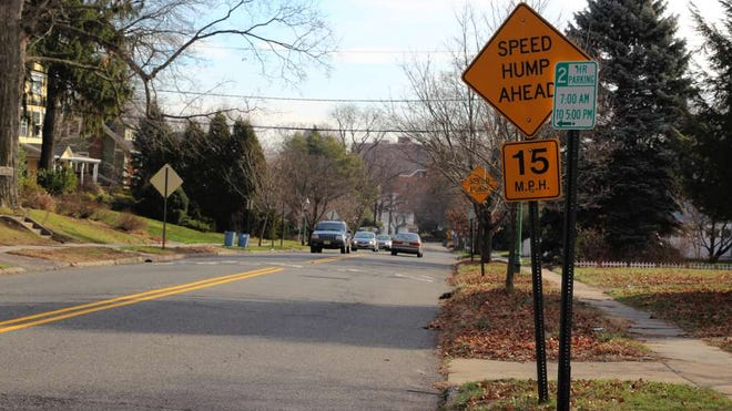Washington Street is seen here in this 2016 file photo. Glen Ridge hopes to include the street on a list of roads to be repaired with help from an NJDOT grant.