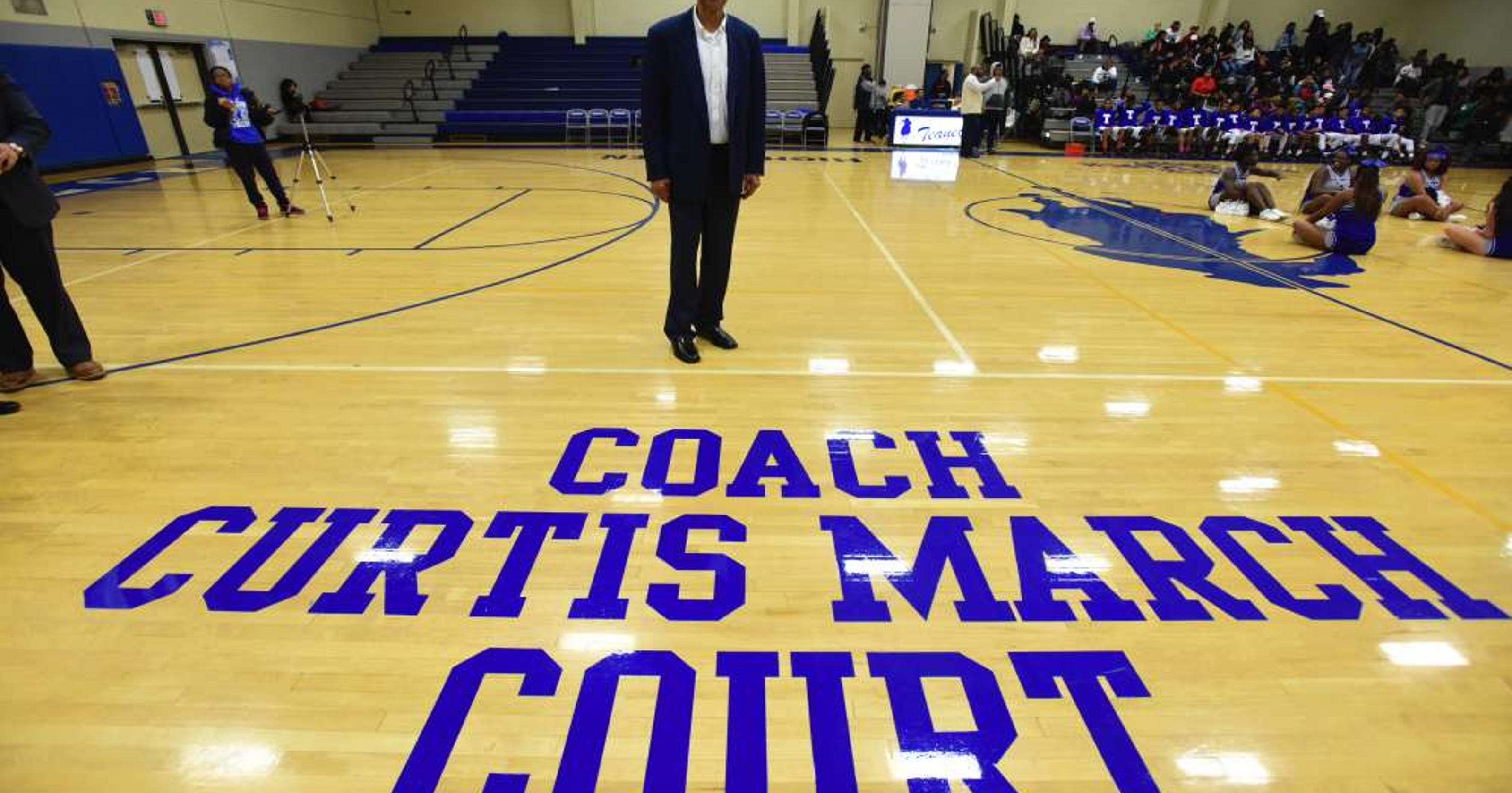 Teaneck High School Basketball Court Renamed In Honor Of Curtis March