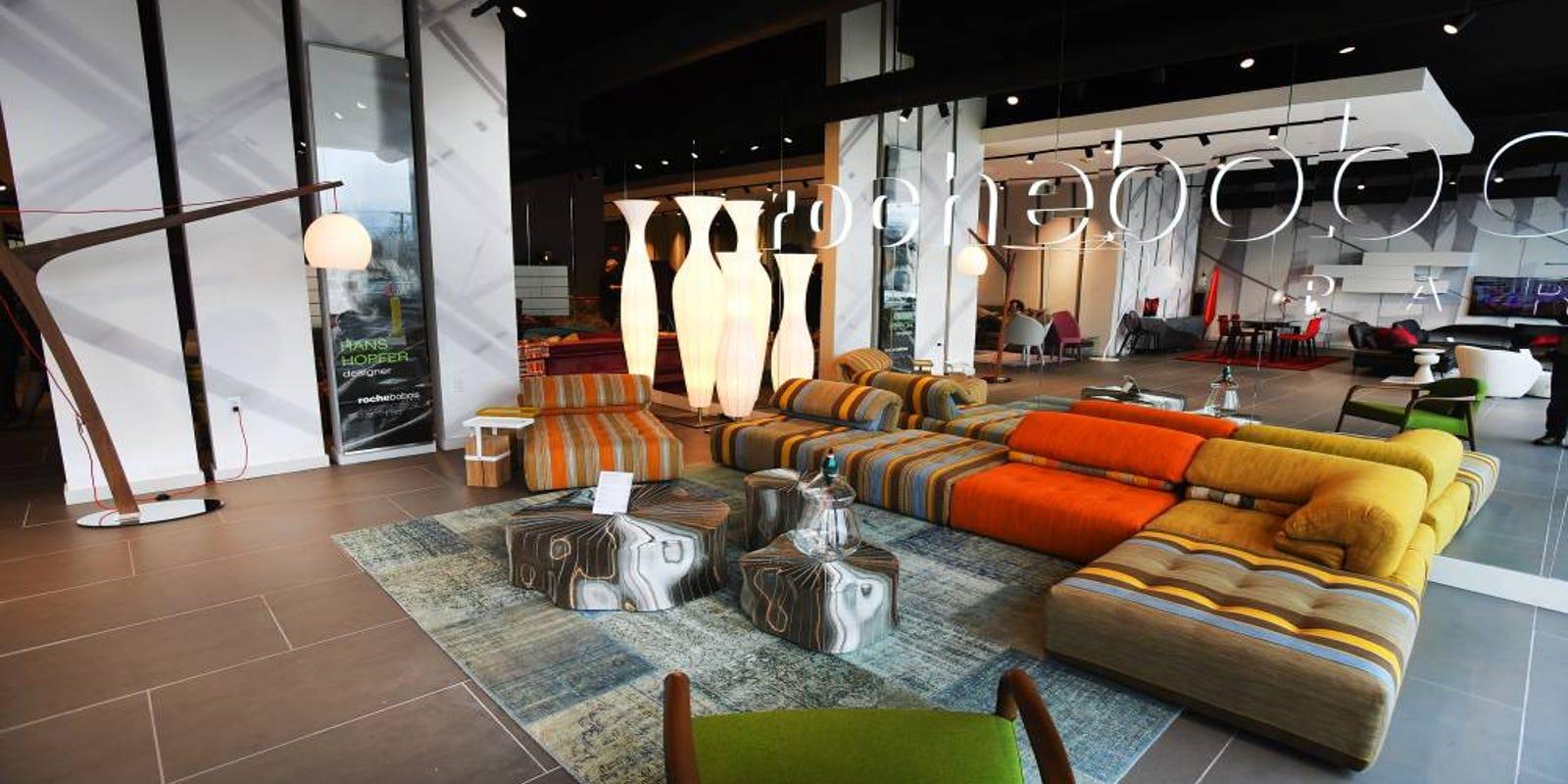 Furniture Company Picks Paramus For Nj